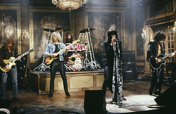Aerosmith - Saturday Night Live 1990