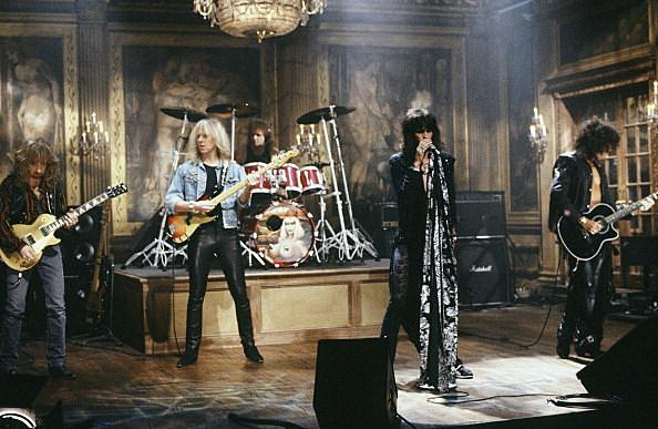 Aerosmith - Saturday Night Live 1990