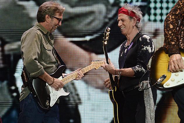 Eric Clapton Keith Richards