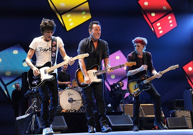 Bruce Springsteen and Rolling Stones