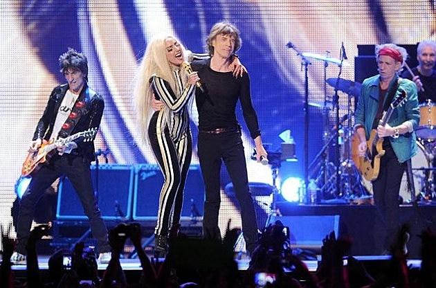 Lady Gaga Mick Jagger