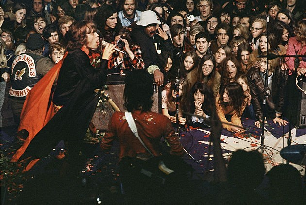 Rolling Stones at Altamont