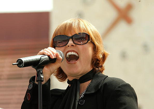 Singer and songwriter Pat Benatar
