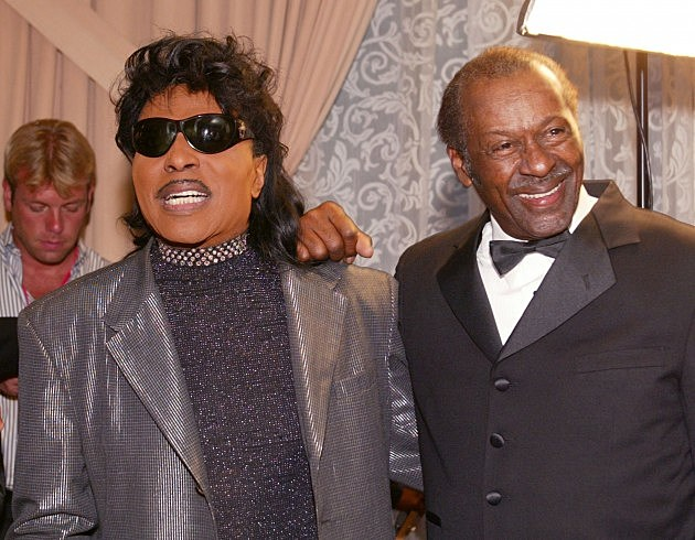 Little Richard and Chuck Berry