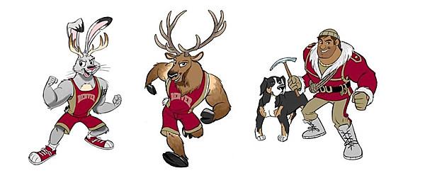 U Denver Mascots