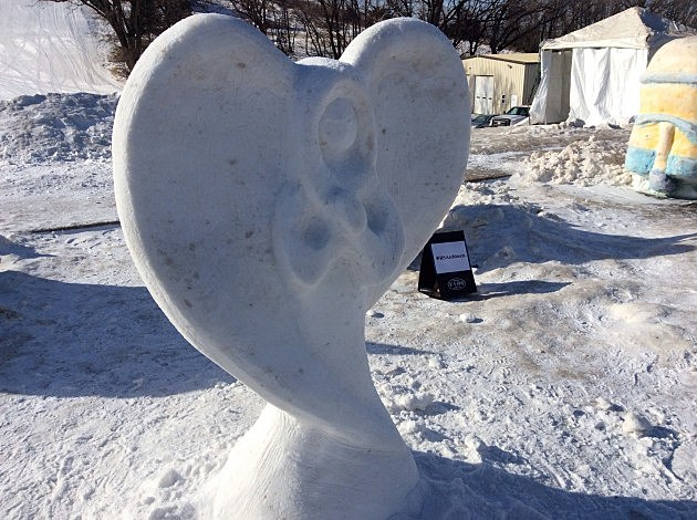 Media One Funski - Snow Sculpture Contest