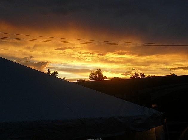 RibFest Sunset