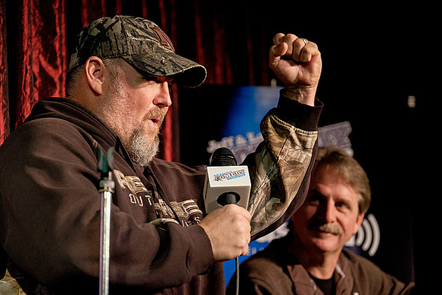 Jeff Foxworthy & Larry The Cable Guy At The Funny Bone Club In Omaha, NE For A Special Comedic Conversation To Air On SiriusXM's Jeff & Larry's Comedy Roundup Channel