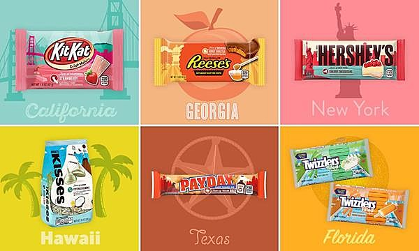 Gas Prices In Florida >> Hershey's 'Flavors of America' Skips South Dakota