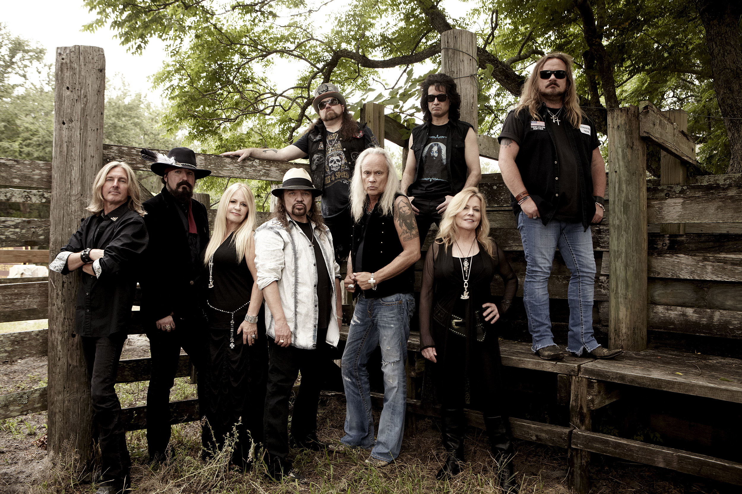Lynyrd Skynyrd Press Release Photo - used with permission