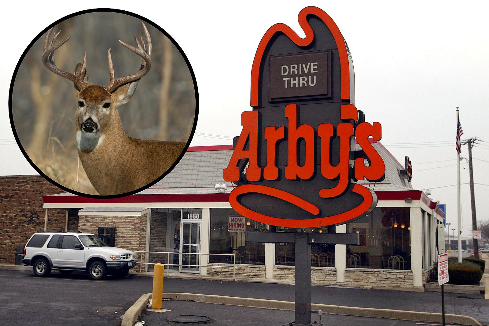 Arby's Serving Deer Burger