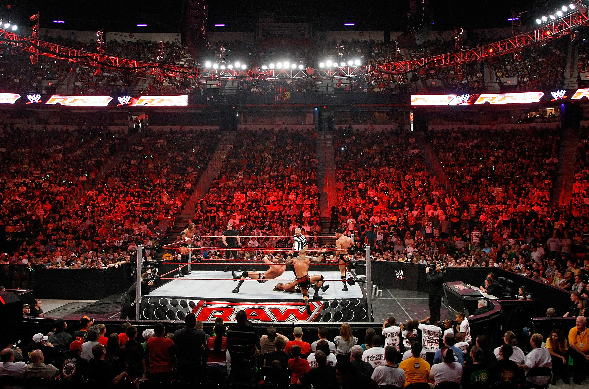 WWE Monday Night Raw In Las Vegas